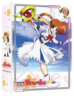 Anime DVD Review: Magical Lyrical Nanoha Box Set, Episodes 10-13