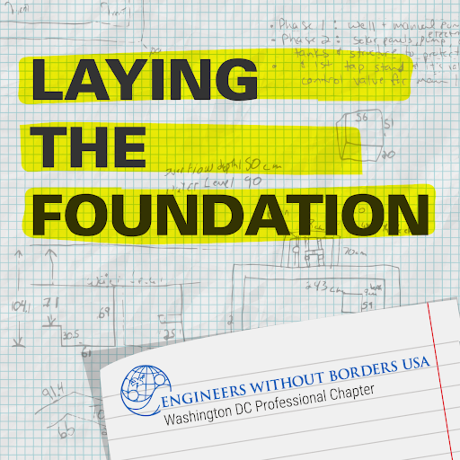 Artwork for Laying the Foundation - Intro to EWB