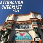 Artwork for The Little Mermaid - Ariel's Undersea Adventure - Disney California Adventure - Attraction Checklist #036