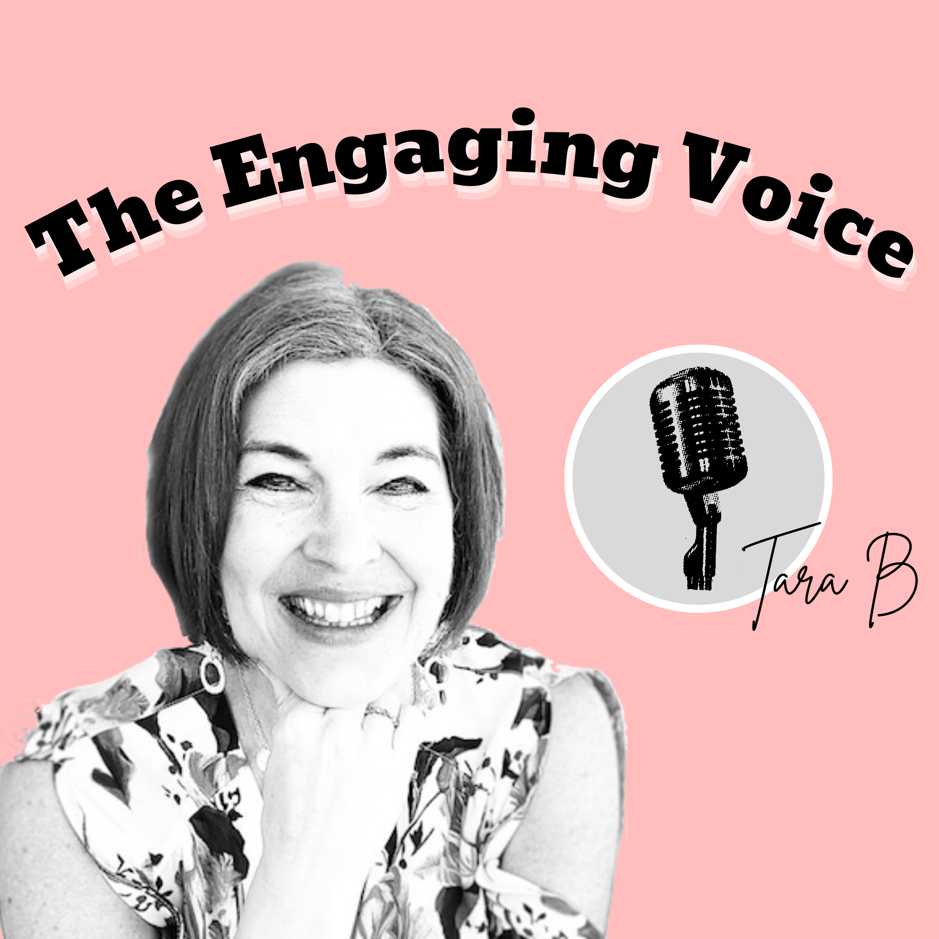 The Engaging Voice show art