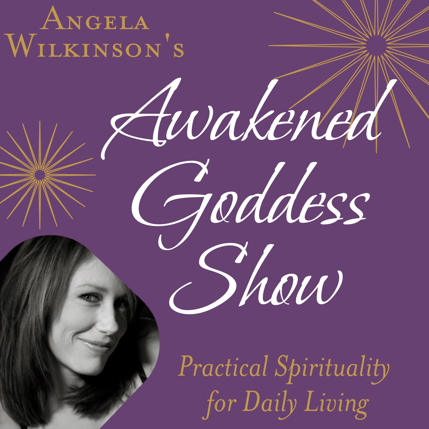 The Awakened Goddess Show: Powerful Conscious Conversations on the Leading Edge show art