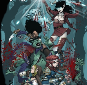 RAT QUEENS vol. 1 with Jimmie Robinson