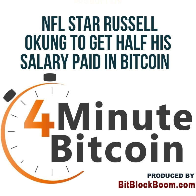 NFL Star Russell Okung to Get Half His Salary Paid In Bitcoin