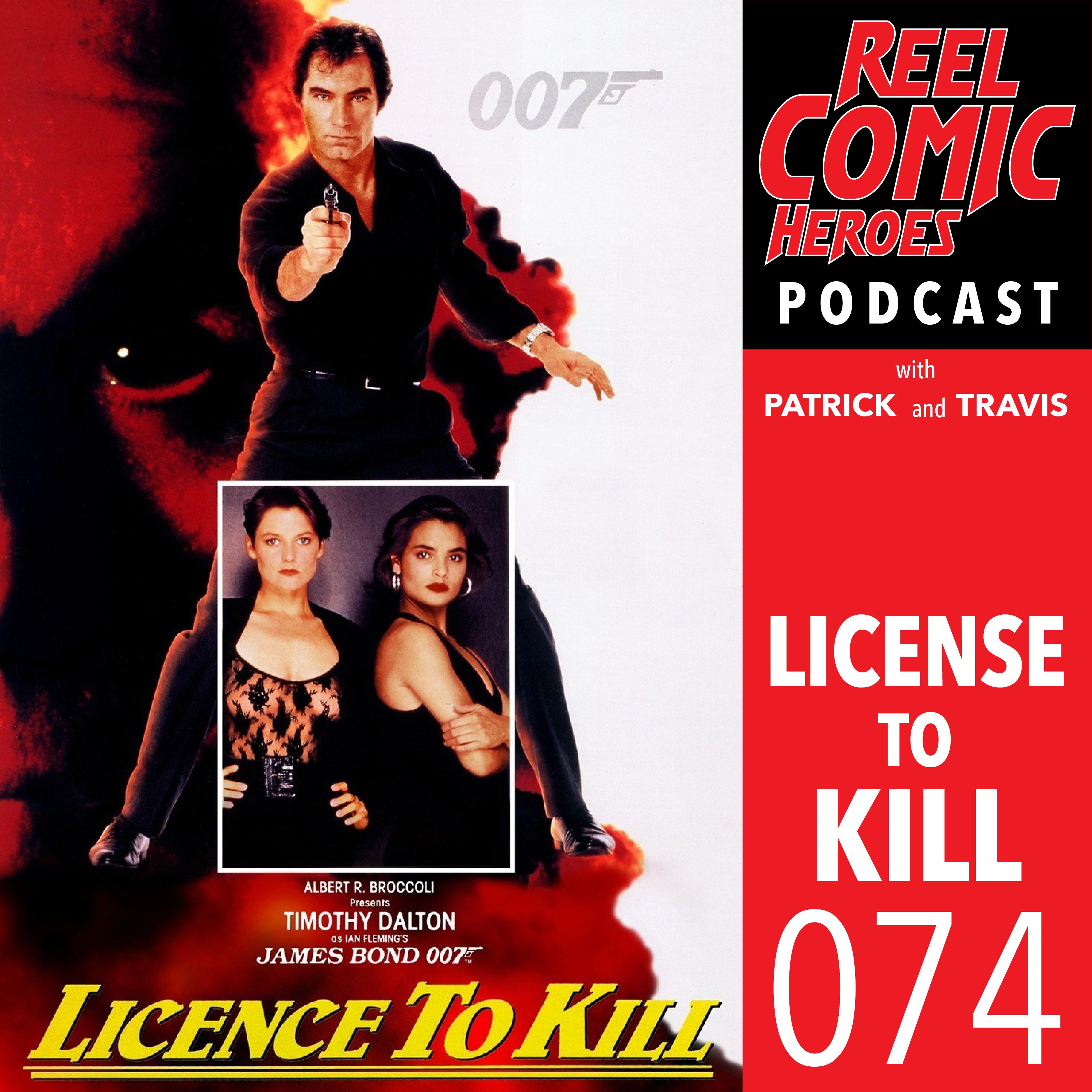 Artwork for Reel Comic Heroes 074 - License to Kill