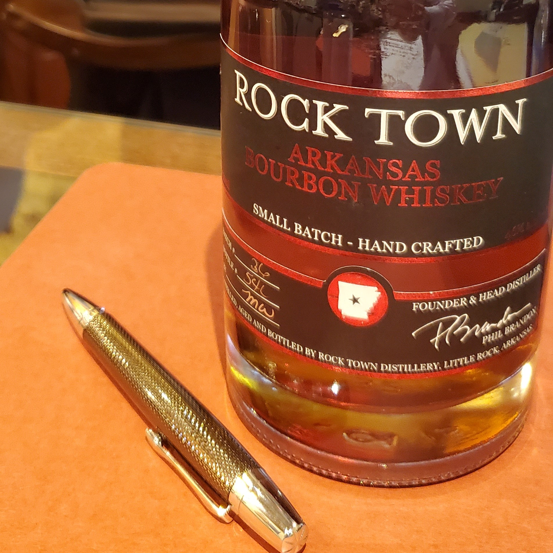 #68 - Rock town Arkansas Whiskey show art