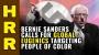Artwork for Bernie Sanders calls for global EUGENICS abortion targeting people of color