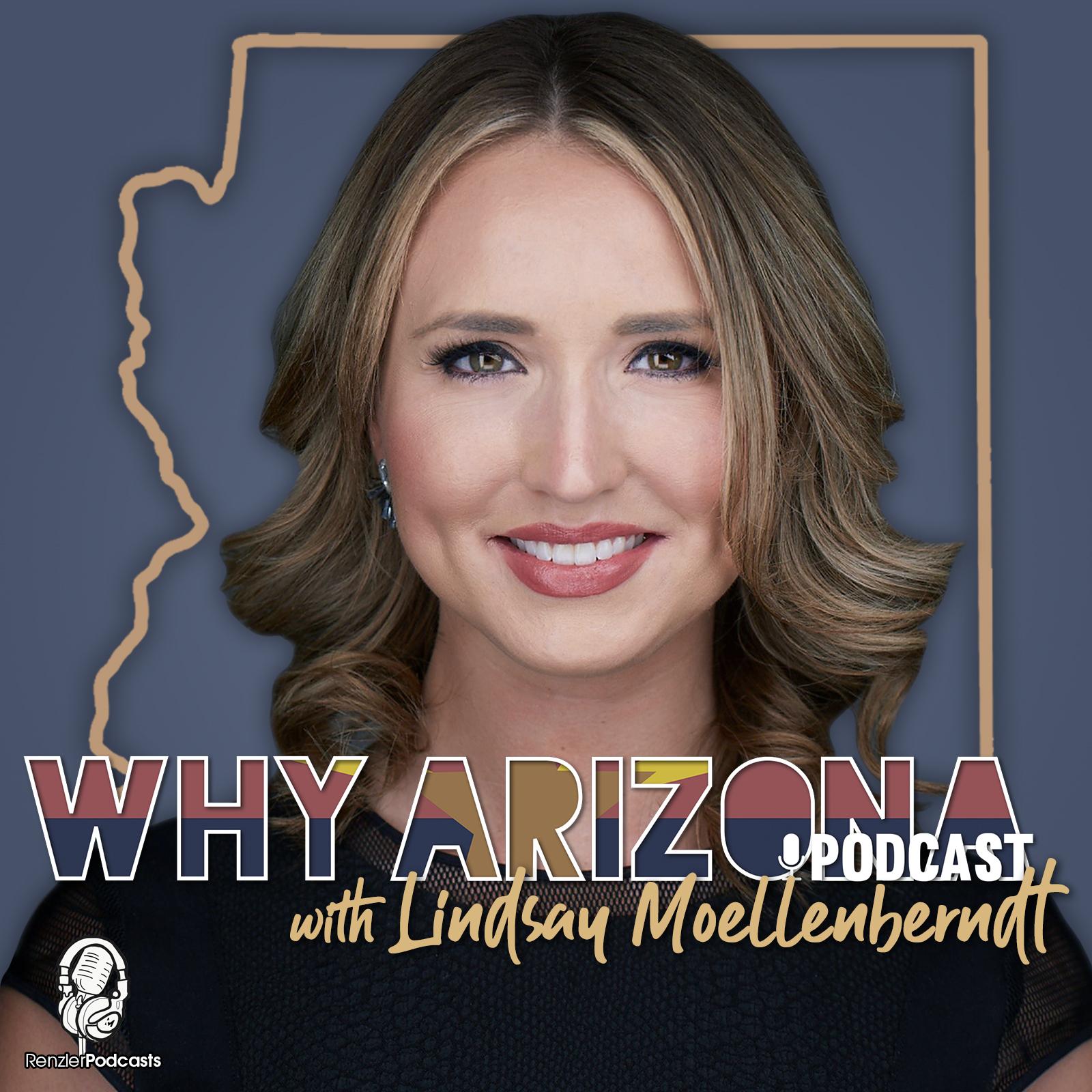 Why Arizona Podcast show art