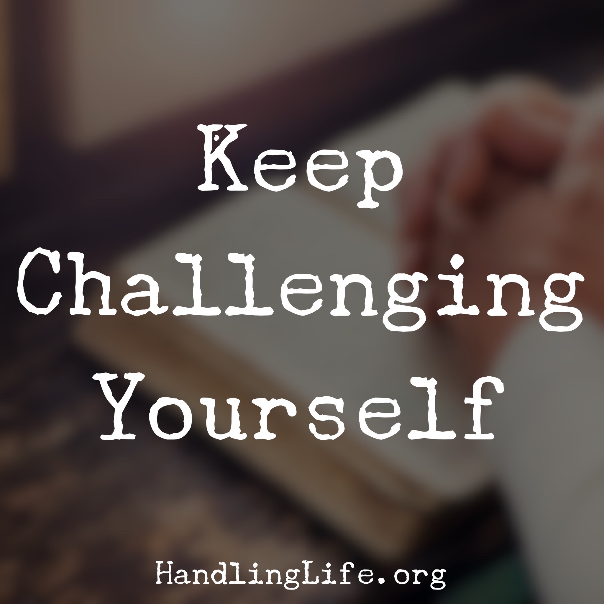 Artwork for Keep Challenging Yourself