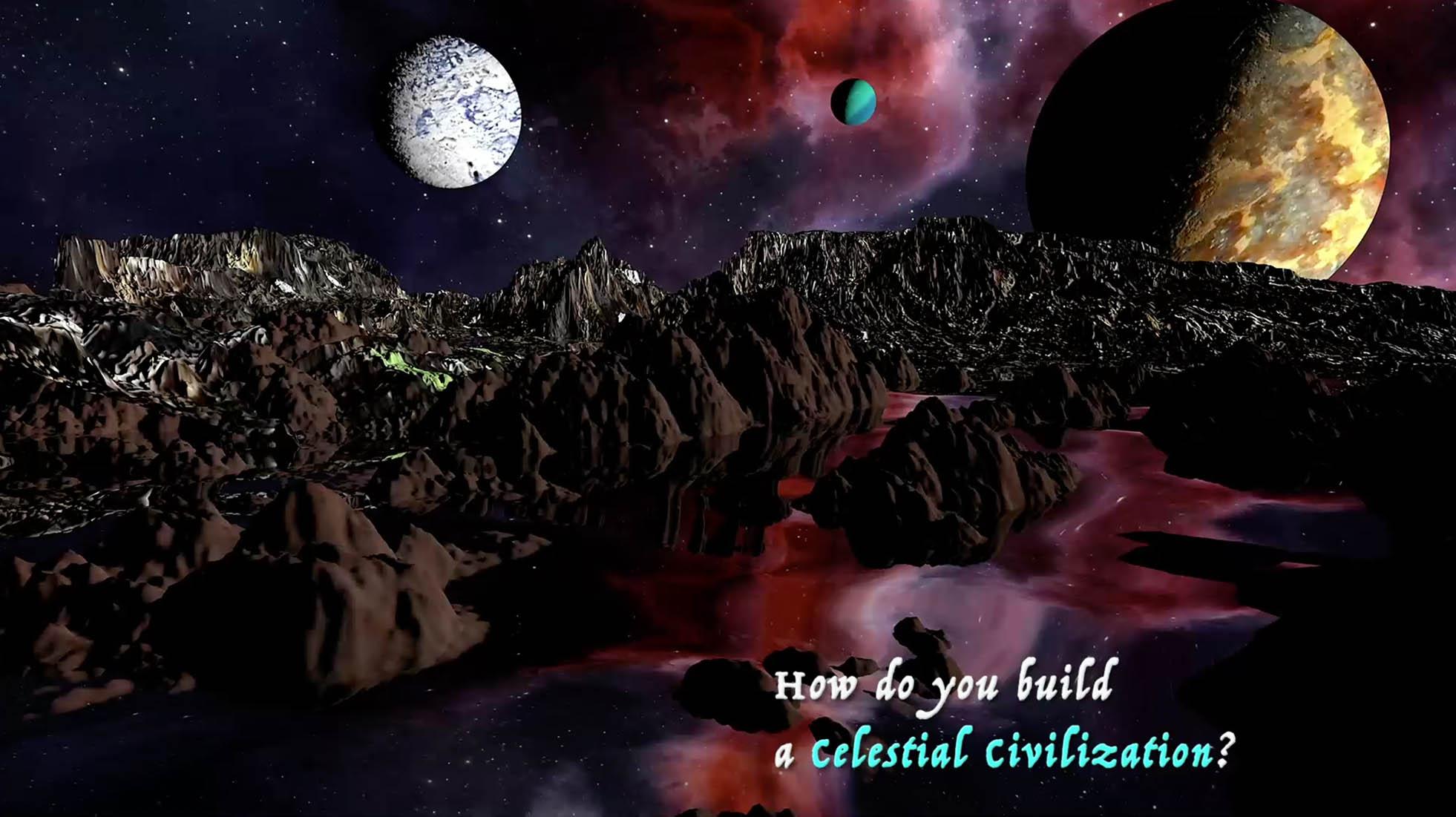 Artwork for How Do you Build A Celestial Civilization?