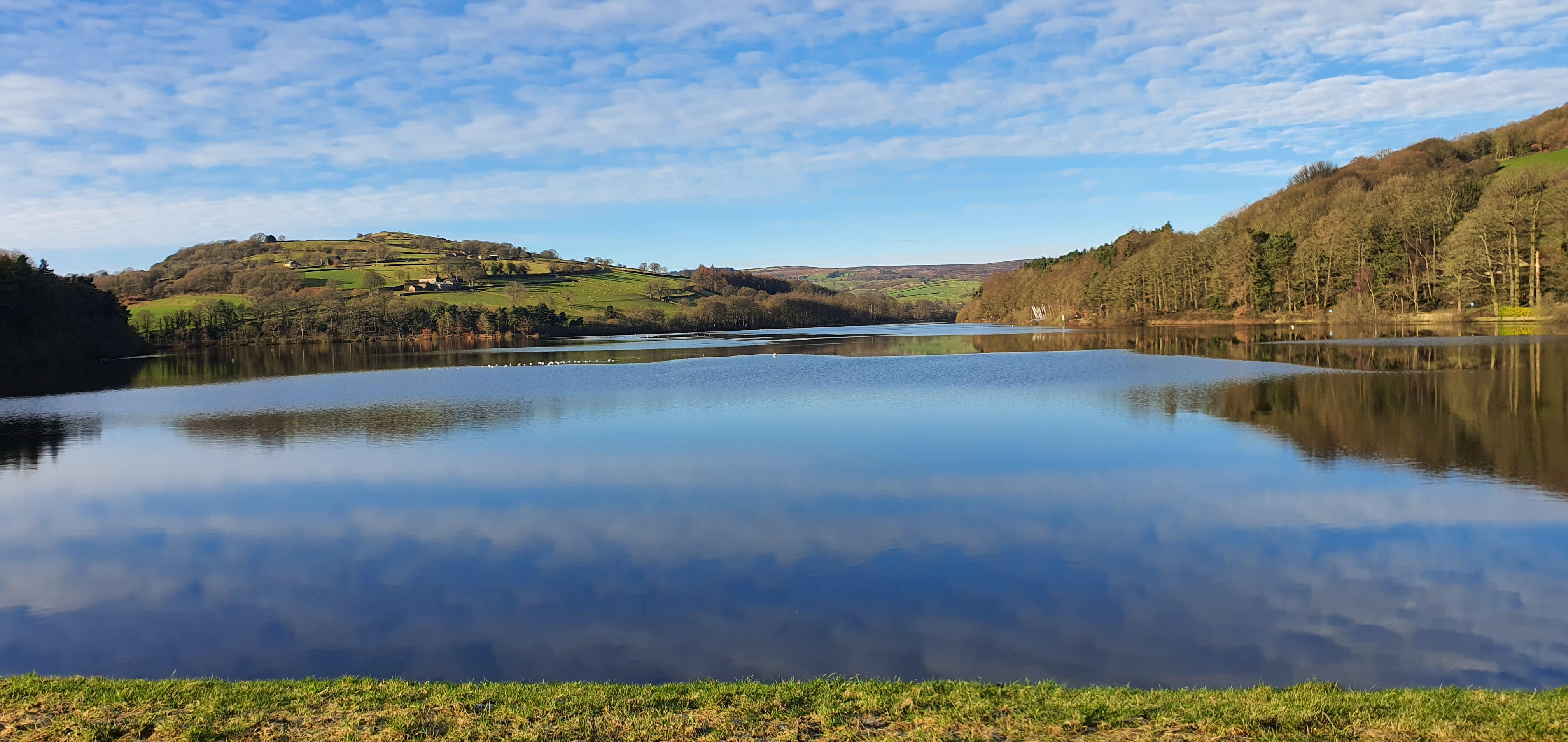 View of Damflask Reservoir