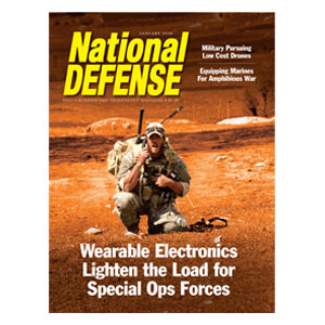 Wearable Electronics Lighten the Load for Special Ops Forces — January 2016
