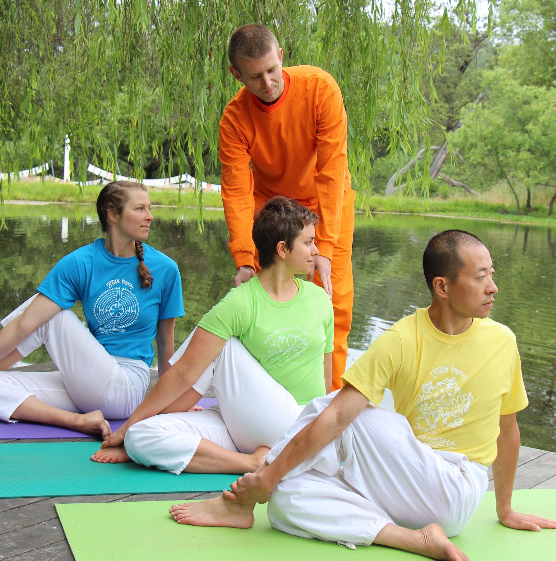 Sivananda Yoga Farm Podcast show art