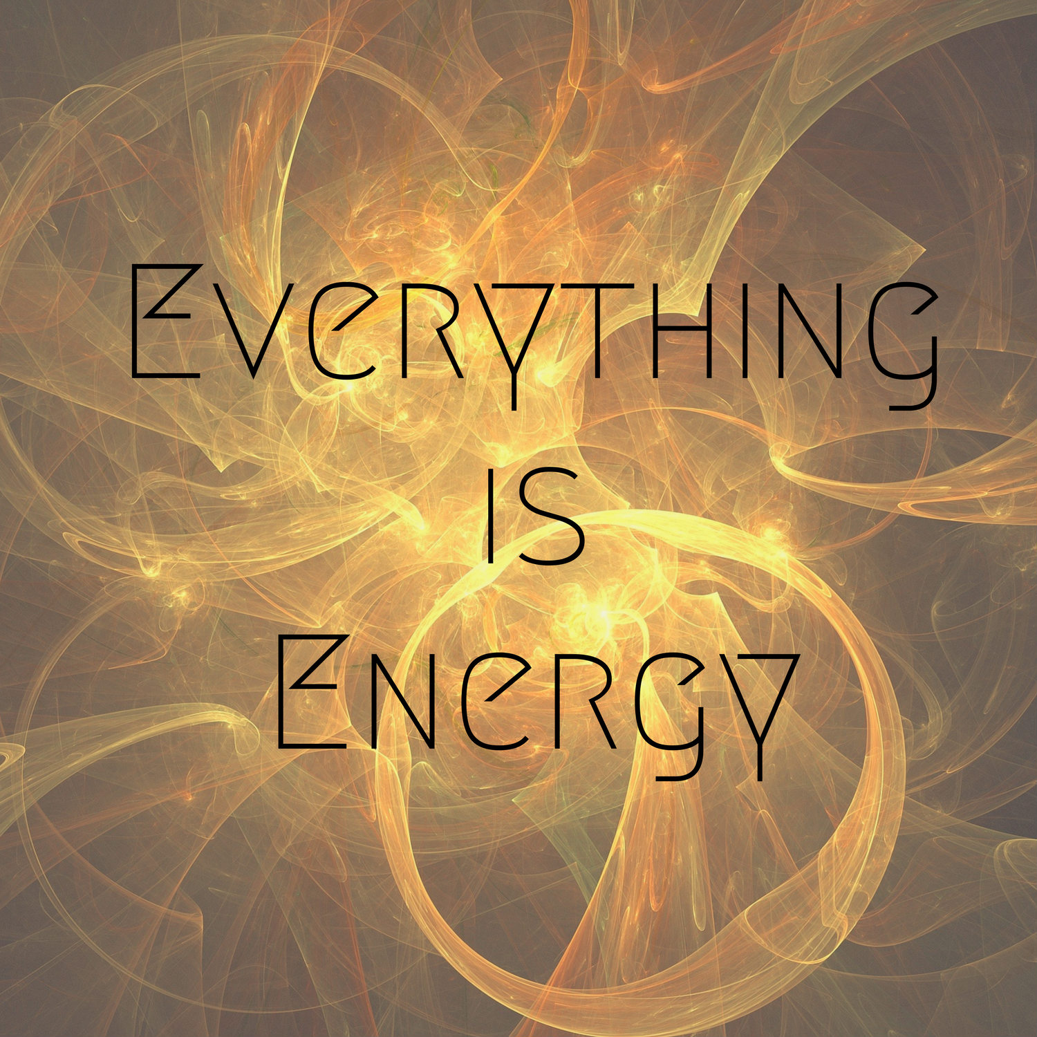 Everything Is Energy show art