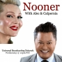 Artwork for Nooner with Alec and Calpernia - Raja and Rachel True