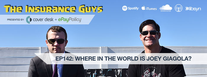 Joey Giagola on the Insurance Guys Podcast