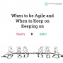 Artwork for LA 070: When to be Agile and When to Keep on Keeping on