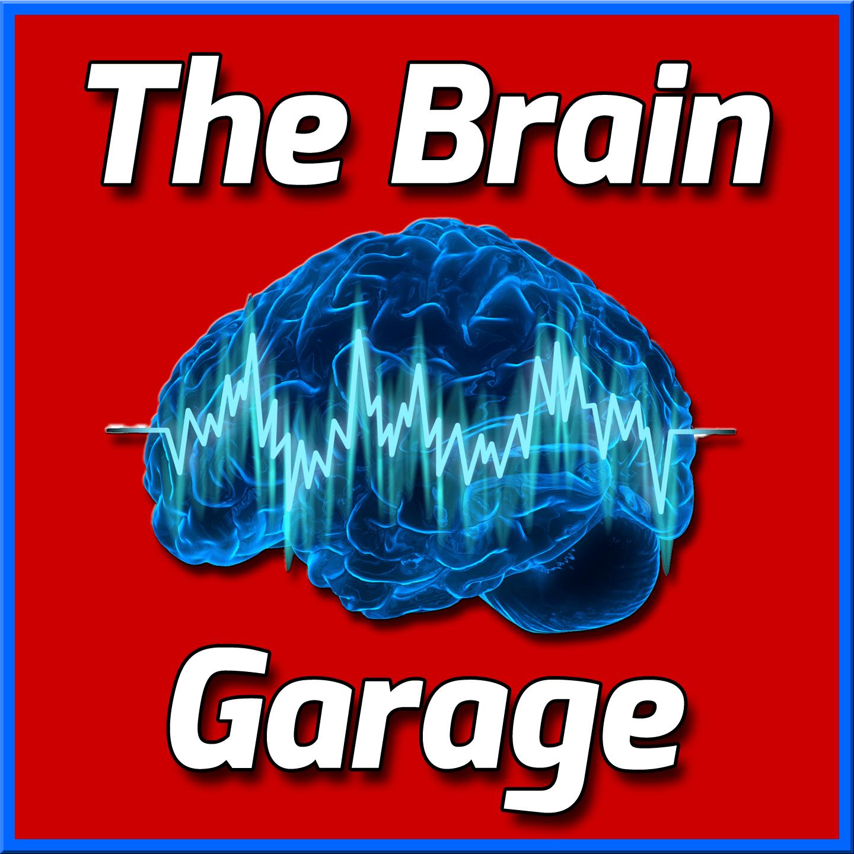The Brain Garage Podcast show art