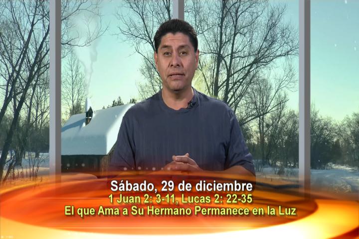 """Artwork for Dios te Habla con Dn. Alfredo Vargas , Tema el hoy:  """"El que ama a su hermano permanece en la luz""""."""