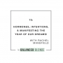 Artwork for Ep. 70 ft. Rachel Mansfield - Hormones, Intentions, & Manifesting The Year of Our Dreams