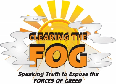 Clearing the FOG with co-hosts Margaret Flowers and Kevin Zeese show art