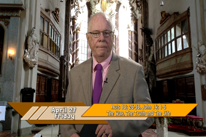 Artwork for iGod Today with Br. Steve Pardy, SVD;  Today's topic:  I am the way, the truth and the life!