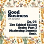 Artwork for Selling Basics Part 3: Marketing Funnels Suck | GB07