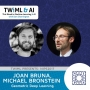 Artwork for Geometric Deep Learning with Joan Bruna & Michael Bronstein - TWiML Talk #90