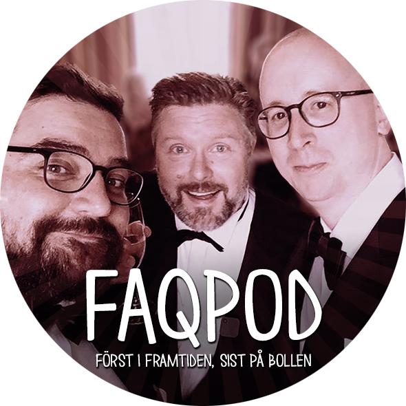 FAQ-podden show art