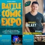 Artwork for Richard Andreoli - Author of 'Battle at the Comic Expo' chats with your Favorite Host Galaxy about his many years with the Legendary San Diego Comic-Con, being a real life Dick Grayson, and so much more