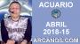Artwork for ACUARIO ABRIL 2018-15-8 al 14 Abr 2018-Amor Solteros Parejas Dinero Trabajo-ARCANOS.COM