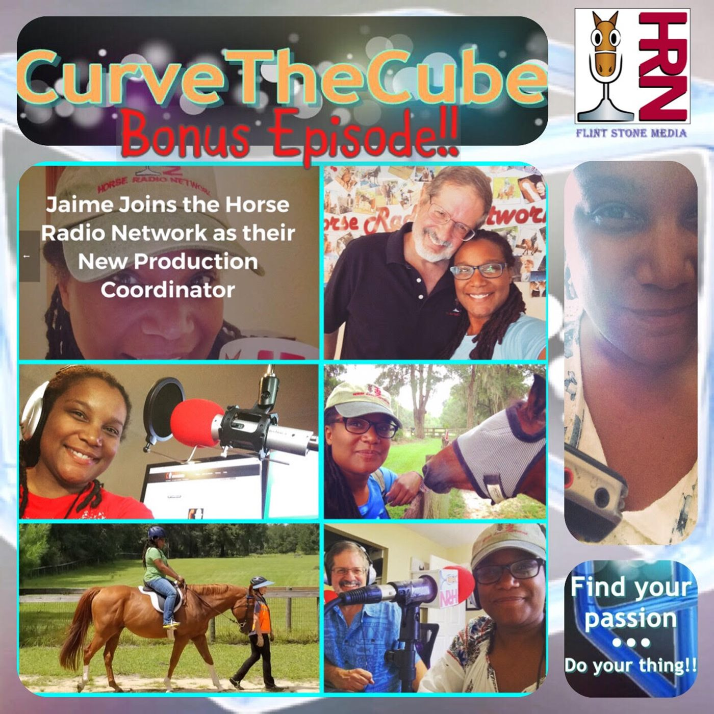 Bonus Curve the Cube Podcast - Jaime Joins the Horse Radio Network and International Podcast Day