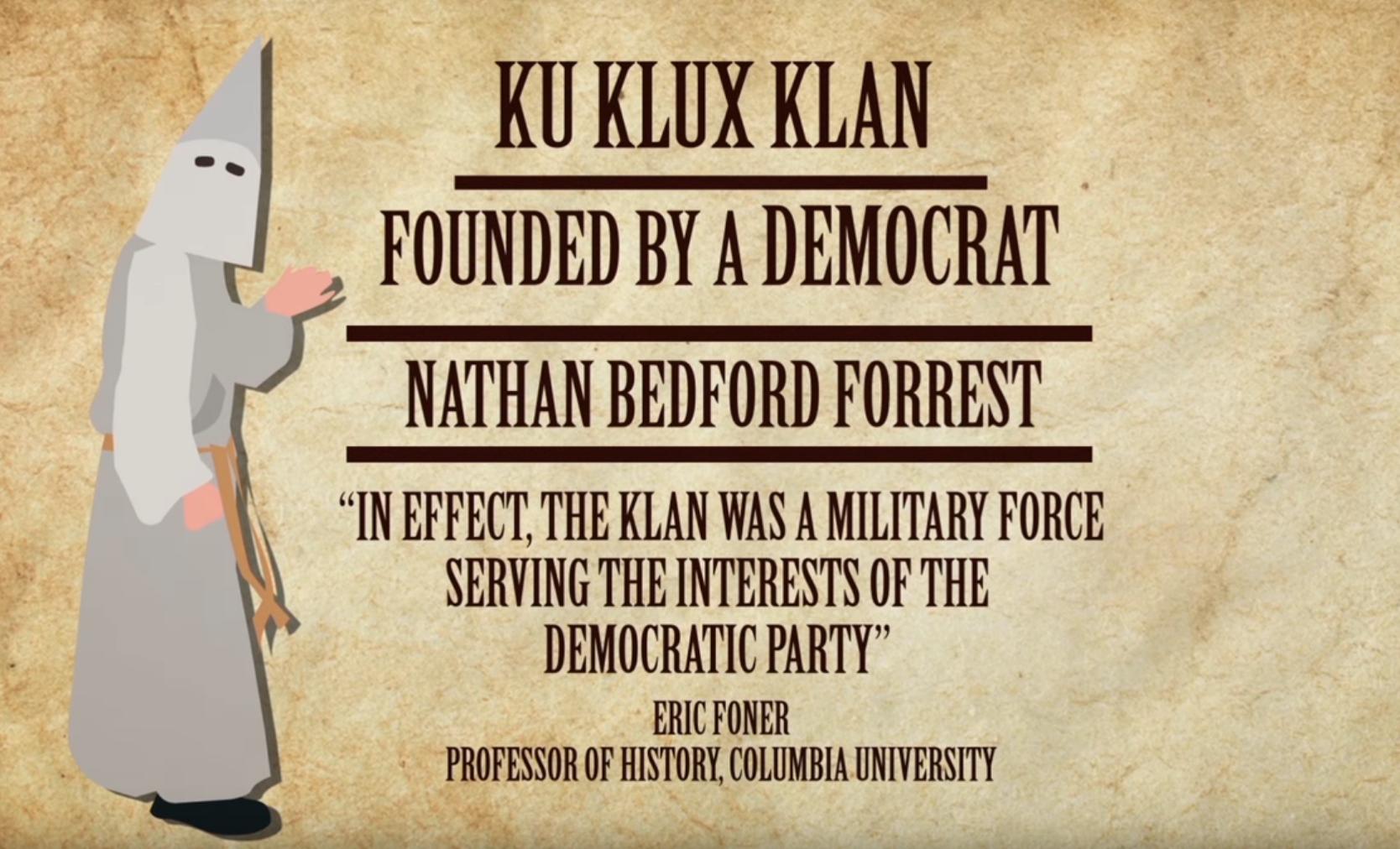 Democrats and the KKK at HoaxAndChange.com
