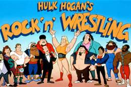 Back in toons Classics-Rock n' wrestling