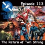 Artwork for The Earth Station DCU Episode 113 – The Return of Tom Strong