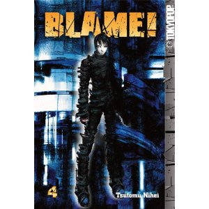 Manga Review: Blame! volume 4