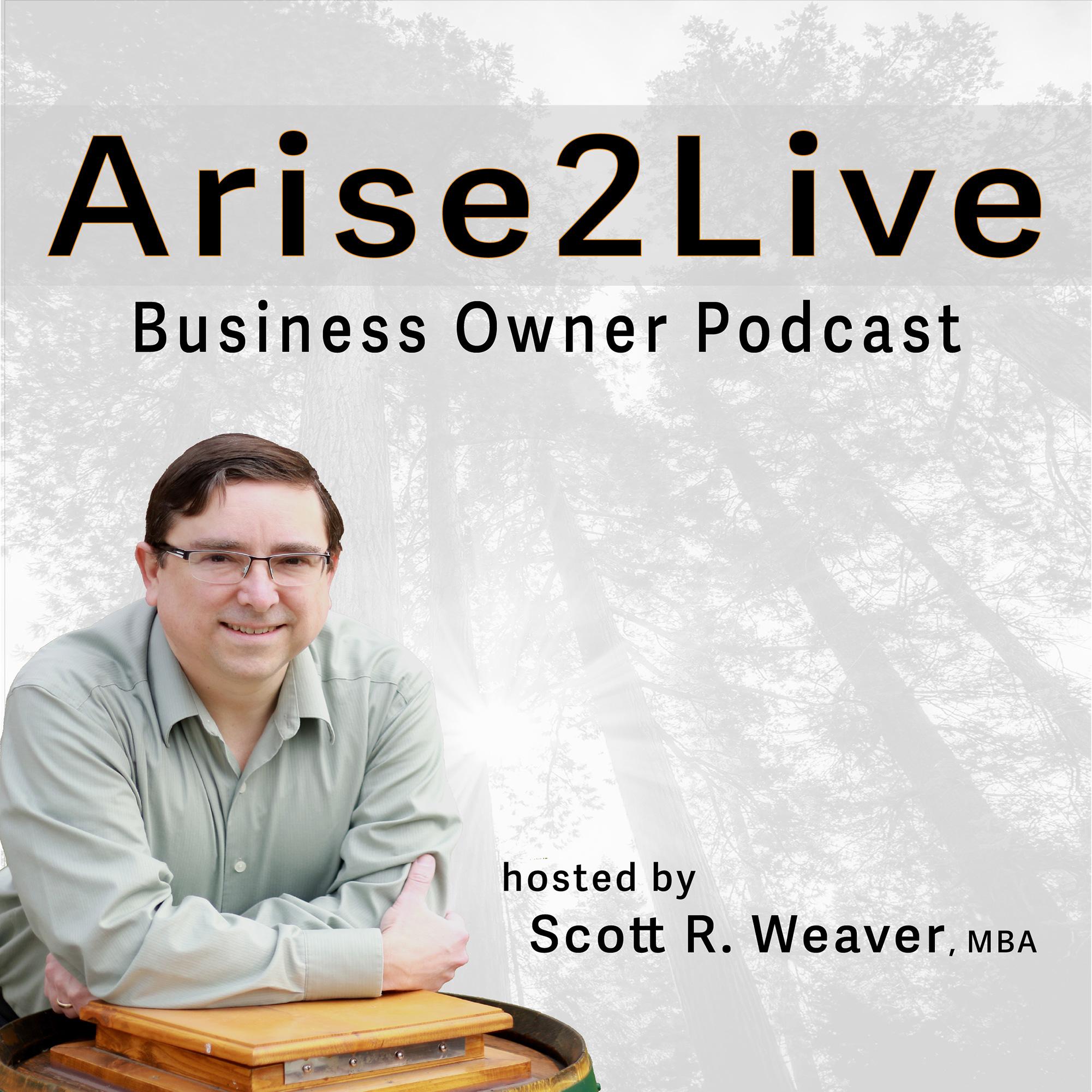 Arise 2 Live Podcast show art