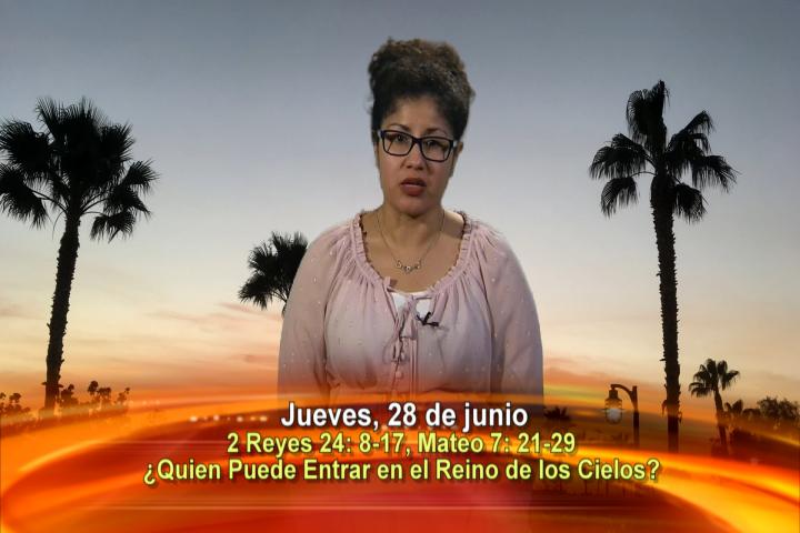 Artwork for Dios te Habla con Jessica De La Torre;  Tema el hoy: ¿Señor quien puede entrar en el Reino de los Cielos?