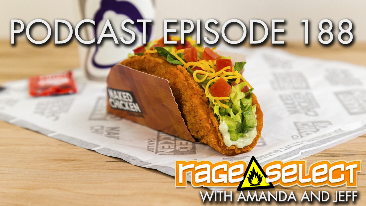 The Rage Select Podcast: Episode 188 with Amanda and Jeff!