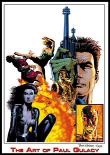 Flashback Paul Gulacy Master Of Kung-Fu