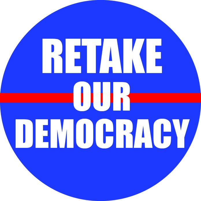Retake Our Democracy show art