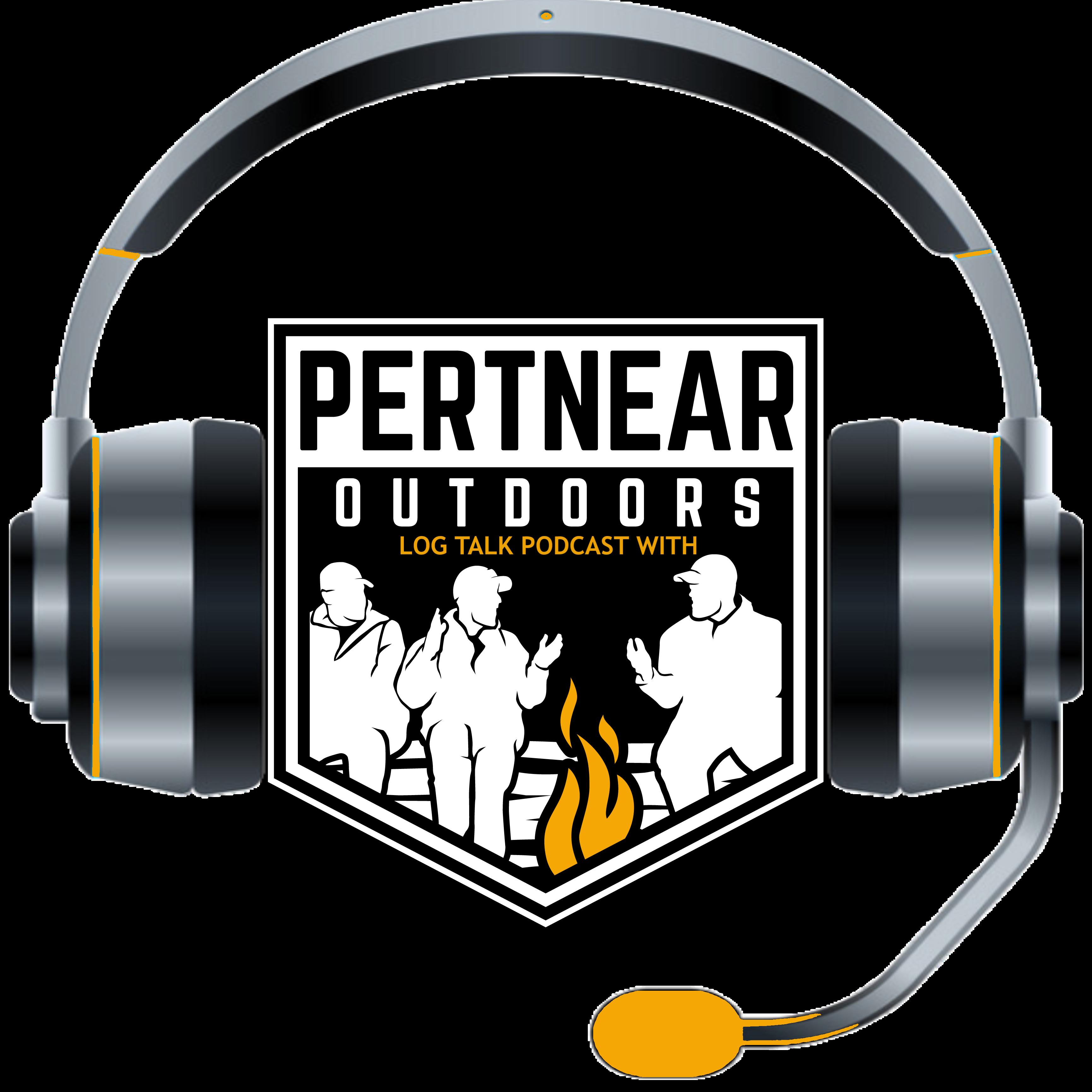 Pertnear Outdoors Podcast show art
