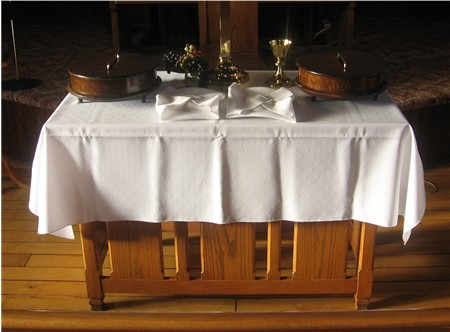 Tending to the Lord's Altar, Luke 2.41-52, Altar Guild Induction of Officers