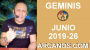 Artwork for HOROSCOPO GEMINIS - Semana 2019-26 Del 23 al 29 de junio de 2019 - ARCANOS.COM