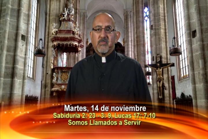 Artwork for Dios te Habla con Fr. Roberto Flores, SVD   Tema el hoy:Somos llamados a servir