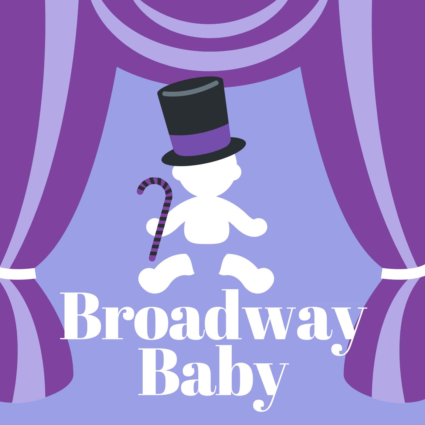 Broadway Baby show art