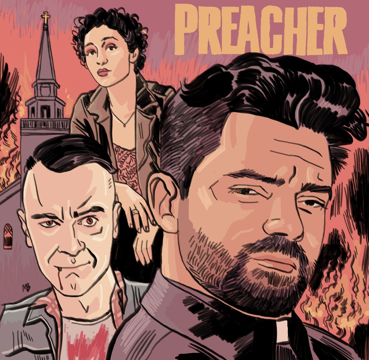 Comic Book Bears Podcast Issue #102 - Preacher vs Stranger Things