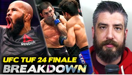 Submission Radio #107 Tim Kennedy, Cole Miller, Ryan Bader, Luke Thomas, Damon Martin + UFC TUF 24 Finale