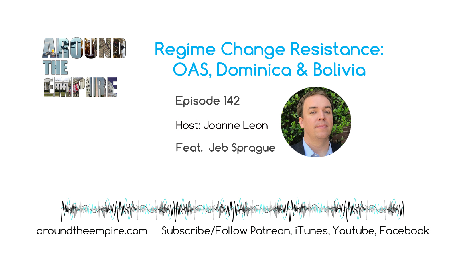 Ep 142 Regime Change Resistance: OAS Bolivia Dominica feat Jeb Sprague