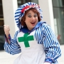 Artwork for Ben Roddy on playing panto dame for the first time at the Marlowe Theatre in Canterbury
