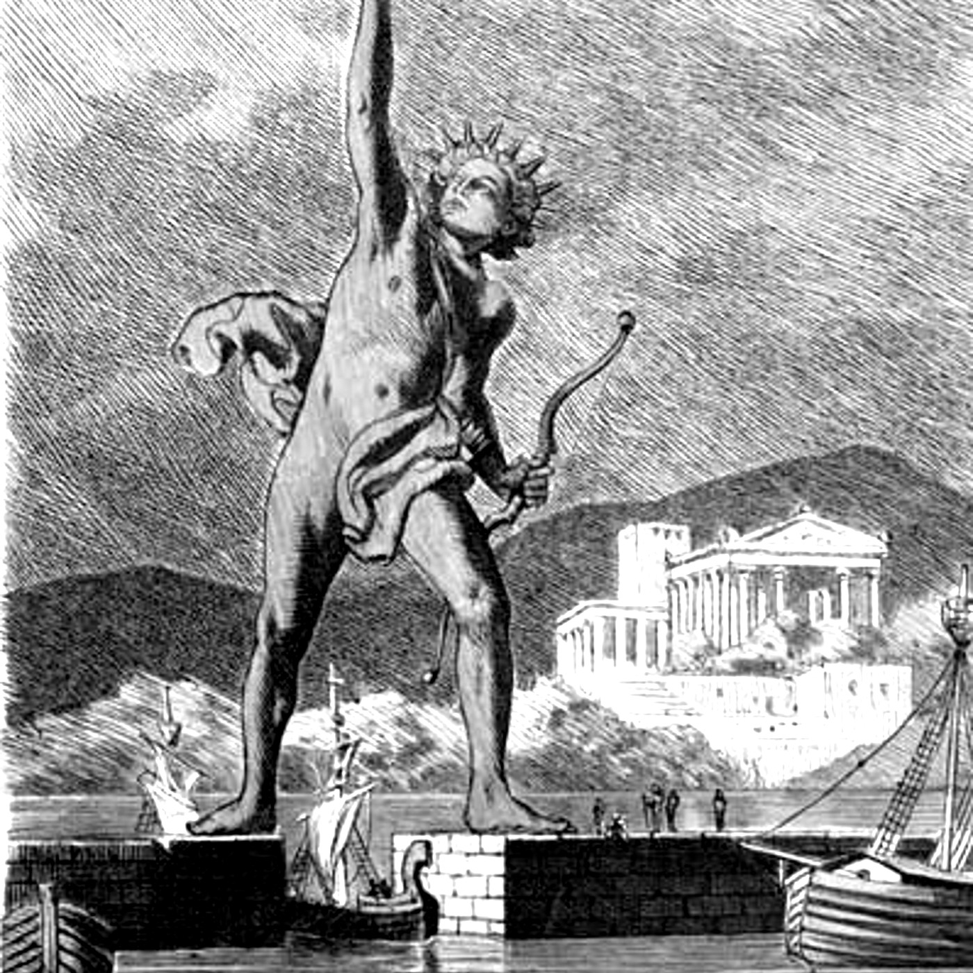Episode 87 - The Colossus of Rhodes show art